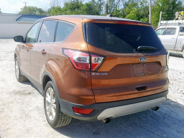 2017 Ford ESCAPE | Vin: 1FMCU0GD3HUC81916