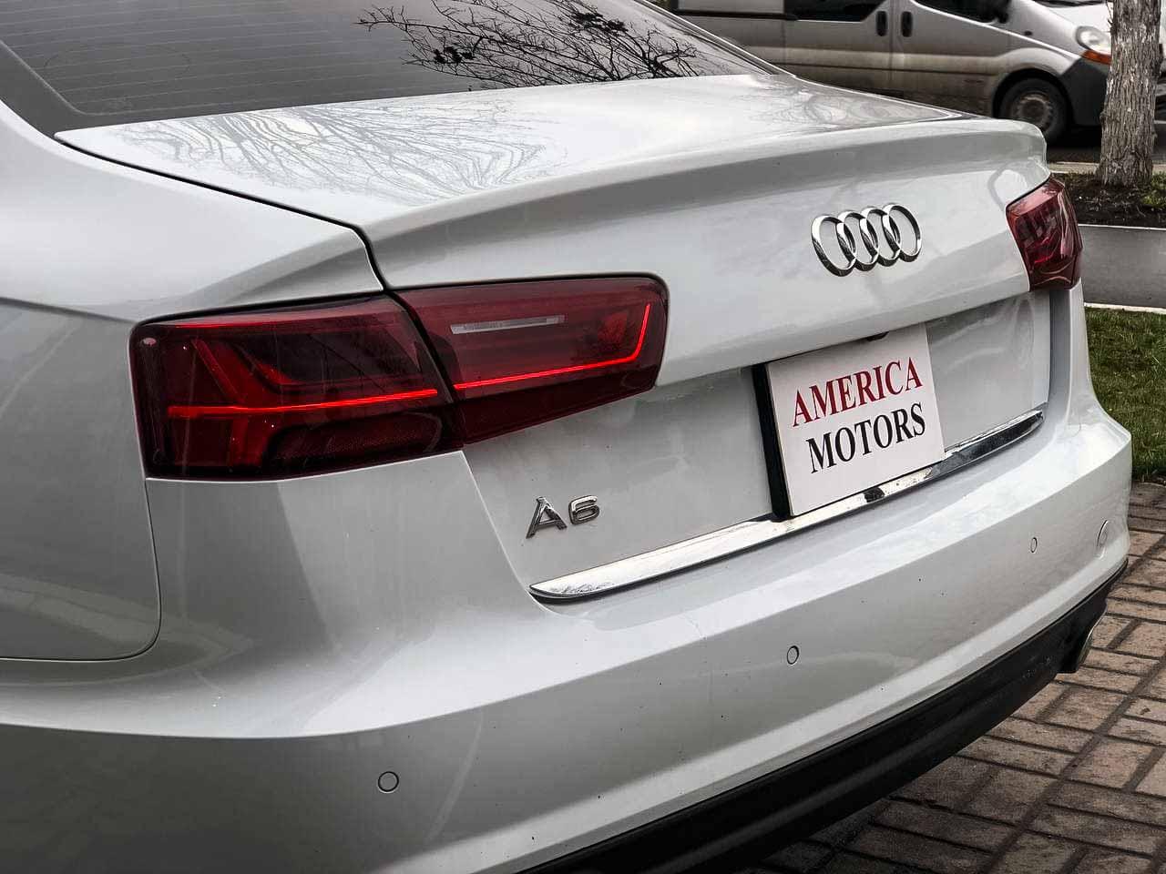 2016 Audi A6   Vin: WAUC8AFC3HN075865