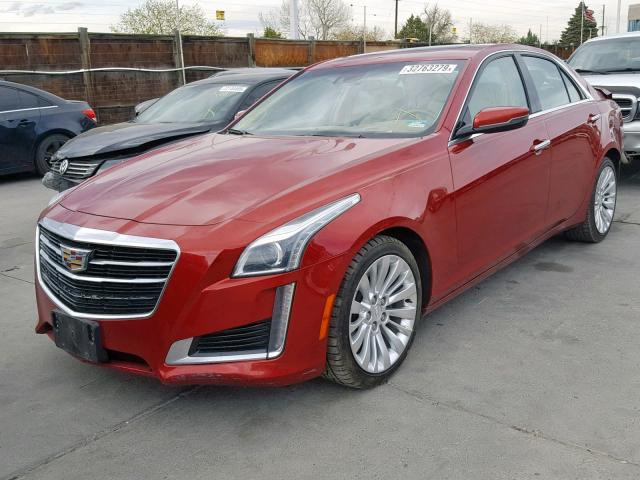 2016 Cadillac cts-luxury