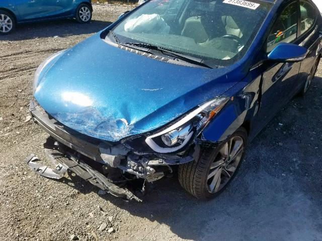 2016 Hyundai ELANTRA SE | Vin: KMHDH4AE6GU******