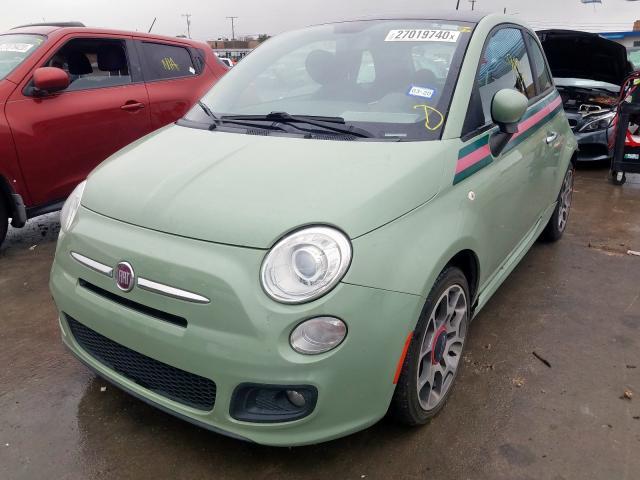 2013 Fiat 500 SPORT | Vin: 3C3CFFBR5DT******