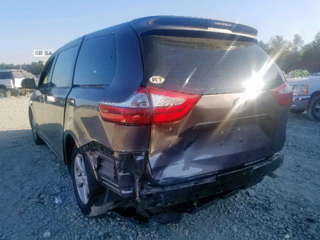 2015 Toyota SIENNA   Vin: 5TDZK3DC1FS682609