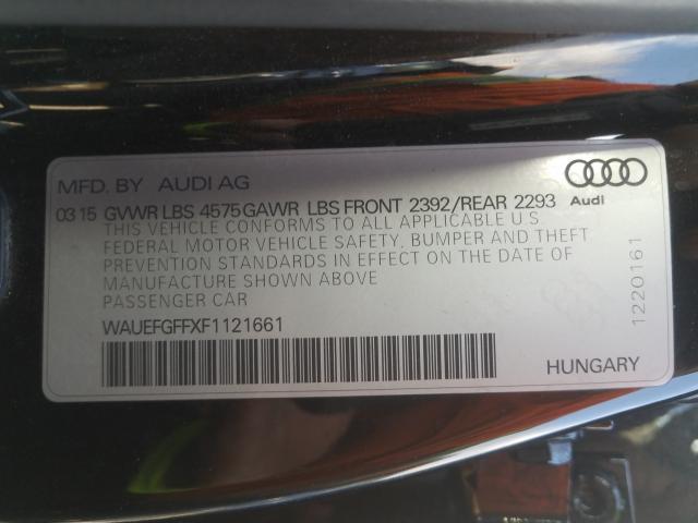 2015 Audi A3 PREMIUM | Vin: WAUEFGFFXF1******